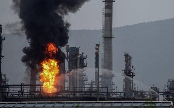 India – Fire At HPCL Visakhapatnam Refinery